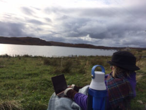 Ann Mortifee Writing in Scotland