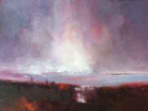 Outer Hebrides Scotland painting by S. Brooke Anderson