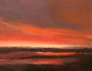 Skye Dawn painting by S. Brooke Anderson