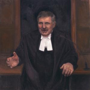 Bill Barishoff Speaker of the Legislative Committee portrait painting by S. Brooke Anderson