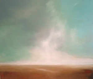 Eternal landscape painting by S. Brooke Anderson