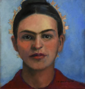 Frida portrait painting by S. Brooke Anderson
