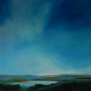 Heaven and Earth Series landscape painting by S. Brooke Anderson