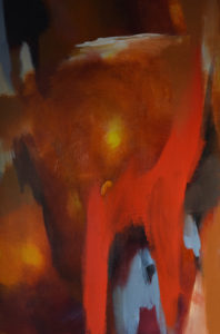 Prayer abstract painting S. Brooke Anderson