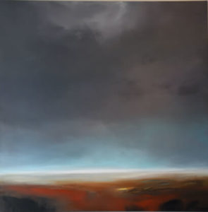 Sacred Light landscape painting by S. Brooke Anderson
