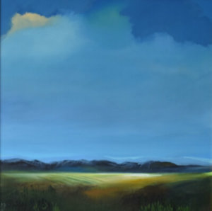 Veil of Light landscape painting by S. Brooke Anderson