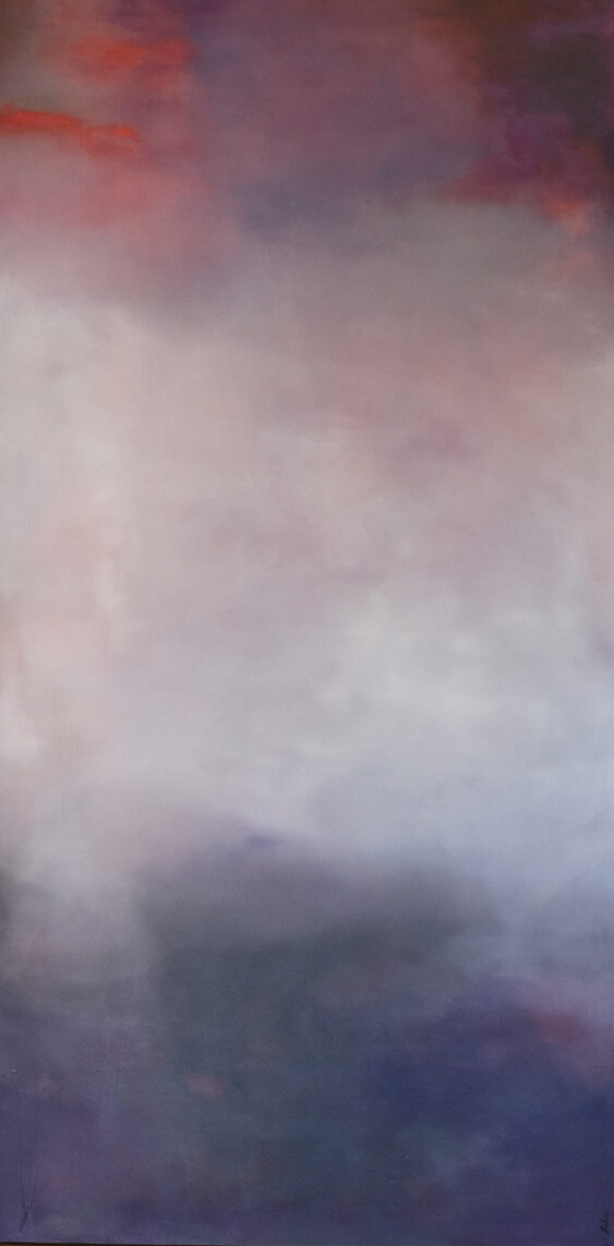 Transcend 80″x40″ Oil on canvas